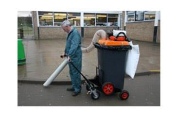 HV120 - HV240 Tekerlekli Vakumlu Çöp Toplayıcı
