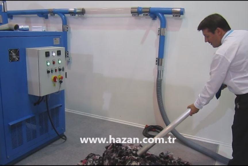 SB 75 Merkezi Sistem Tekstil Vakumu