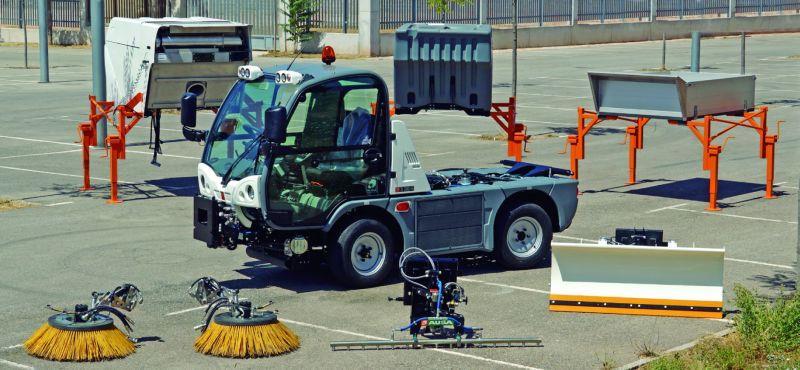 Multitask Fonksiyonel Araçlar Belediye Siteler Multicar