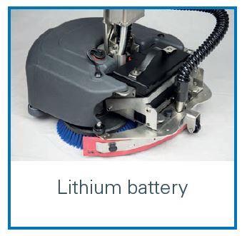 RA 405B Bataryalı Mini Yer Yıkama Makinası